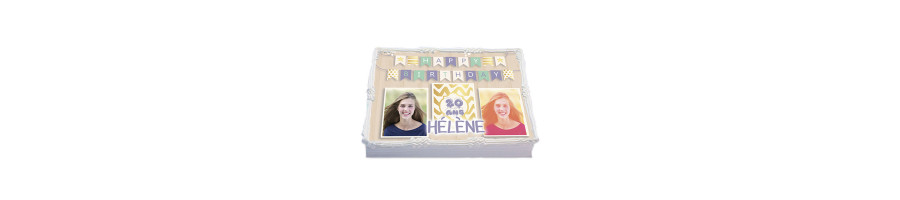 Nos Gâteaux photos d'anniversaire